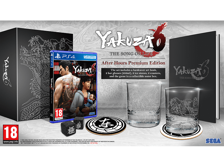 Yakuza 6 SoL After Hours PlayStation 4 gaming games ps4 games