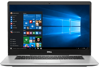 "DELL Inspiron 7570-242717 ezüst notebook (15,6"" FHD/Core i7/8GB/256GB SSD+1TB HDD/940MX 4GB/Windows 10)"
