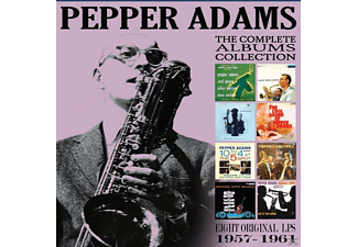 Pepper Adams - The Classic Albums Collection - Eight Original LPs (1957-1961) - (CD)