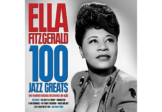 Ella Fitzgerald - 100 Jazz Greats - (CD)