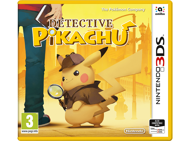 Detective Pikachu Nintendo 3DS gaming φορητές κονσόλες games 2ds  3ds