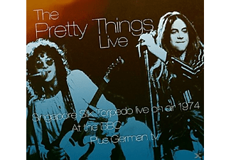 The Pretty Things - Live On Air At BBC - (CD + DVD Video)