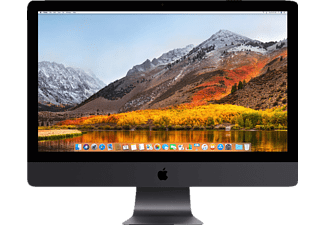 APPLE iMac Pro mit internationaler englischer Tastatur, All-in-One PC mit 27 Zoll, Retina, 5K Display Display, 1 TB Speicher, 64 GB RAM, Xeon W Prozessor Prozessor, Space Grau