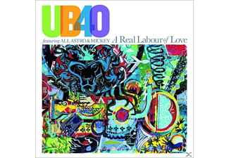Astro & Mickey Ub40 Feat. Ali - A Real Labour Of Love (Coloured Vinyl) - (Vinyl)