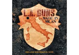 The L.a.guns - MADE IN MILAN (DELUXE EDITION) - (CD + DVD Video)