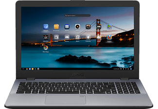 "ASUS VivoBook 15 X542UN-GQ147 szürke laptop (15,6"" matt/Core i5/4GB/1TB HDD/MX150 4GB VGA/Endless OS)"
