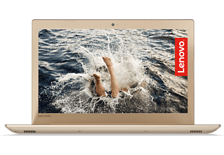 "LENOVO IdeaPad 520 arany laptop 81BF00CXHV (15,6"" Full HD IPS matt/Core i5/4GB/500GB HDD/MX150 2GB VGA/DOS)"