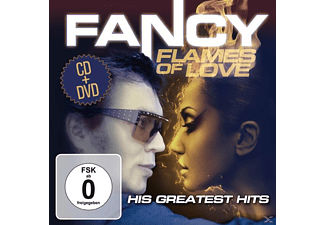 Fancy - Flames of Love-His Greatest Hits - (CD + DVD Video)