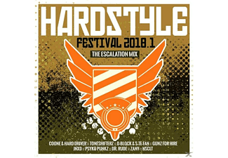VARIOUS - Hardstyle Festival 2018.1-The Escalation Mix - (CD)