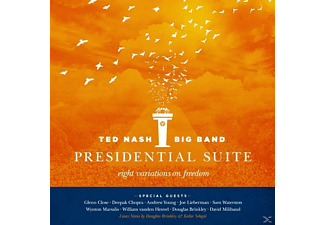 Ted Nash - Presidential Suite: Eight Variations On Freedom - (CD)