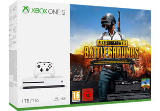 MICROSOFT Xbox One S 1TB Konsole - PLAYERUNKNOWN'S BATTLEGROUNDS Bundle