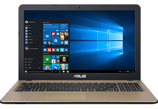 ASUS R540LA-DM1197T, Notebook mit 15.6 Zoll Display, Core™ i3 Prozessor, 8 GB RAM, 256 GB SSD, HD Graphics 5500, Chocolate Black/Gold