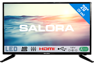 Salora 20LED1600 20  HD Zwart LED TV