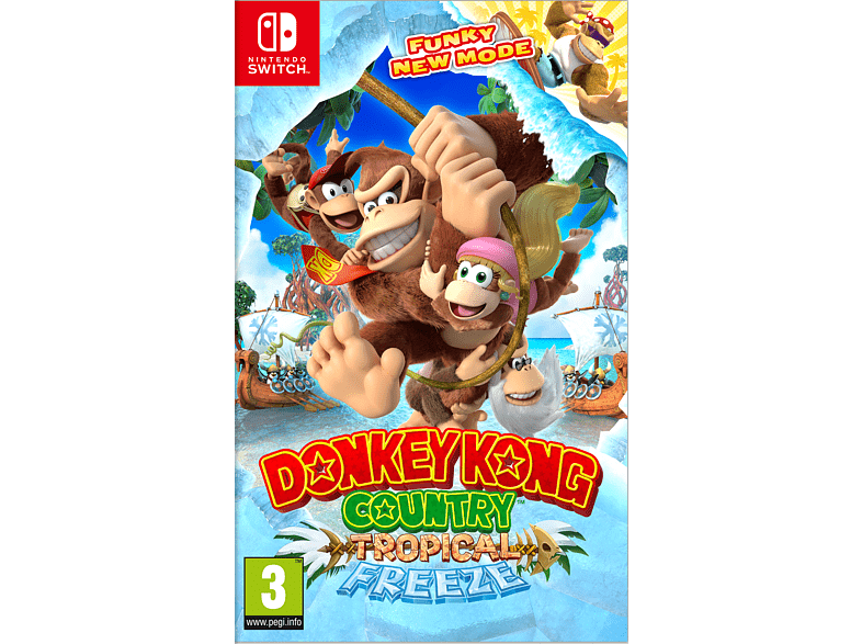 Donkey Kong Country Tropical Freeze Nintendo Switch gaming games switch games