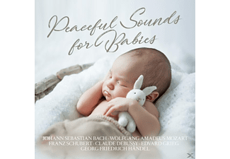 MOZART,W.A.-DEBUSSY,C.-GRIEG.E.-UVM. - Peaceful Sounds of Babies - (CD)