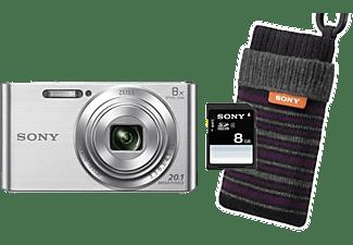 sony digitalkamera dsc w830 sdi bundle inkl 8gb sd karte. Black Bedroom Furniture Sets. Home Design Ideas