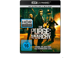 The Purge - Anarchy - (4K Ultra HD Blu-ray + Blu-ray)