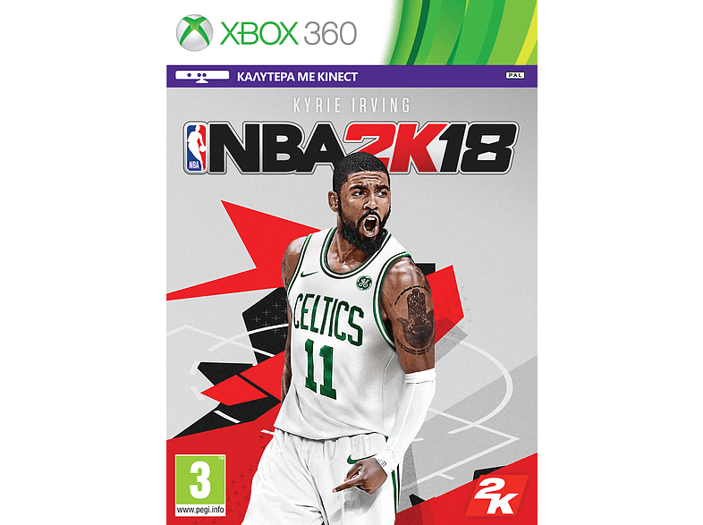 NBA 2K18 (Greek) Xbox 360 gaming games xbox 360 games