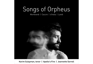 APOLLO S FIRE, SORRELL JEANETTE, SULAYMAN - SONGS OF ORPHEUS - (CD)