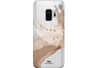 WHITE DIAMONDS 180884 CO LIQUIDS GALAXY S9 GO Backcover Samsung Galaxy S9 Kunststoff Gold