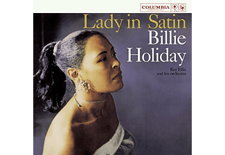 Billie Holiday - Lady In Satin (Coloured) (Vinyl LP (nagylemez))