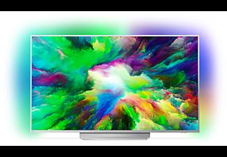 PHILIPS 49PUS7803, 123 cm (49 Zoll), UHD 4K, SMART TV, LED TV, 1700 PPI, Ambilight 3-seitig, DVB-T2 HD, DVB-C, DVB-S, DVB-S2