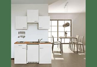 Respekta Miniküche Mit Kühlschrank : Respekta kb ww weiß küchenblock mit elektrogeräten in kaufen
