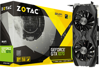 ZOTAC GeForce® GTX 1070 AMP! Core Edition( NVIDIA, Grafikkarte)