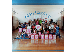 The Go Team - Semicircle (Ltd. Neon Pink Vinyl LP) [LP + Download]