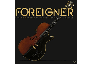 Foreigner - With The 21st Century Symphony Orchestra & Chorus [LP + DVD Video]