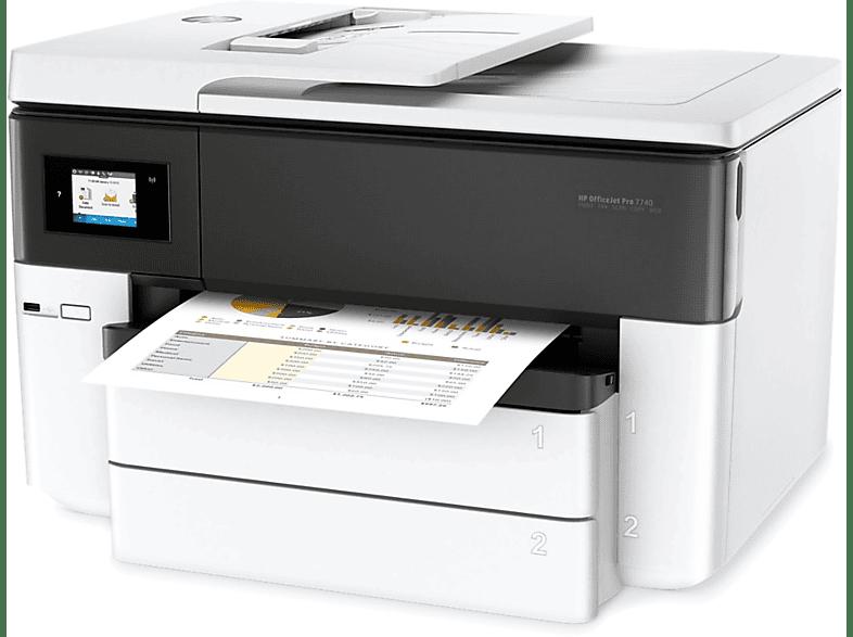 HP Inkjet πολυμηχάνημα - Officejet Pro 7740 Wide Format All-in-One Printer (A3) laptop  tablet  computing  εκτύπωση   μελάνια πολυμηχανήματα