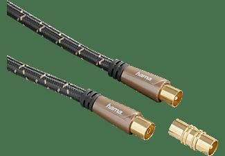 HAMA COAX-kabel verguld 120 db 5 sterren 5 meter