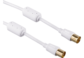 Hama antennekabel flexi-slim coax 1.5m 95dB 3sterren