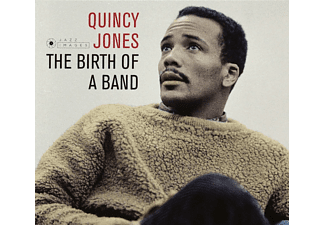 Quincy Jones, Clark Terry, Jimmy Cleveland, Zoot Sims, Benny Golson, Lalo Schifrin, Sweets Edison, Rahsaan Roland Kirk, Jim Hall - The Birth Of A Band [CD]