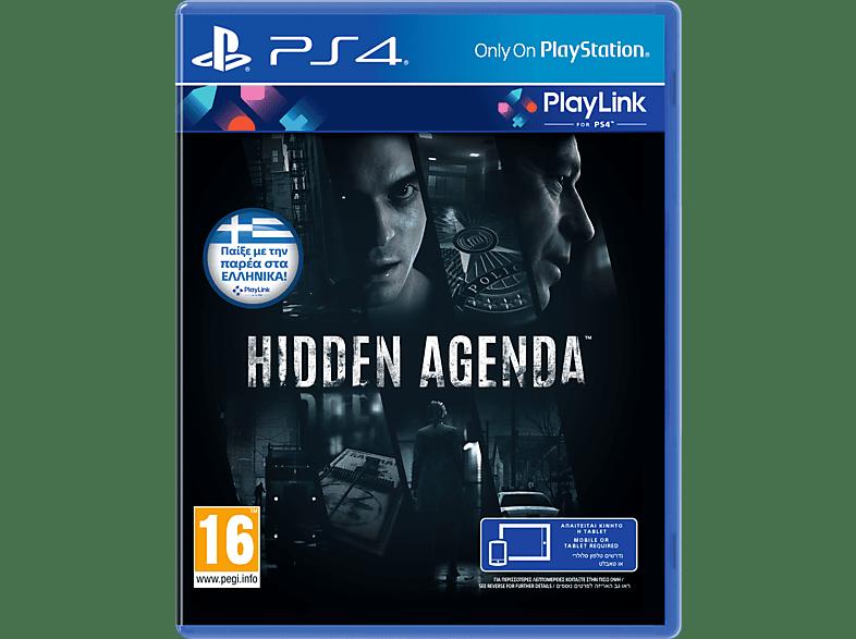 Hidden Agenda PlayStation 4 gaming games ps4 games