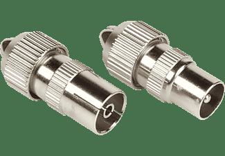 HAMA COAX-kit metaal Plug/Jack 1 ster