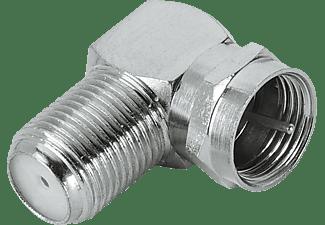 Hama Adapter, a) von 1x F-stekker, b) auf 1x F koppeling 122490 ANT.ADA. F-STE-F-KUPP 90