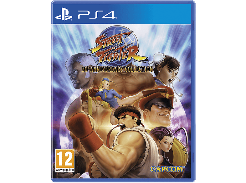 Street Fighter 30th Anniversary Collection PlayStation 4 gaming games ps4 games