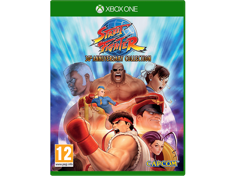Street Fighter 30th Anniversary Collection Xbox One gaming games xbox one games