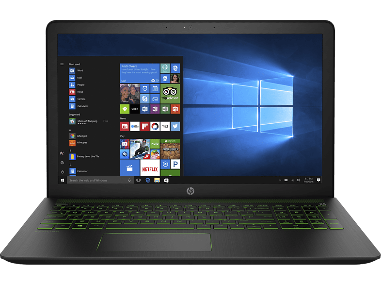 HP Pavillion Power 15-CB007NV Intel Core I7-7700HQ /16GB/256GB SSD/1TB HDD/GeFor laptop  tablet  computing  laptop gaming laptop