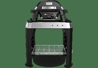weber elektrogrill mit stand pulse 1000 in schwarz 84010079 mediamarkt. Black Bedroom Furniture Sets. Home Design Ideas