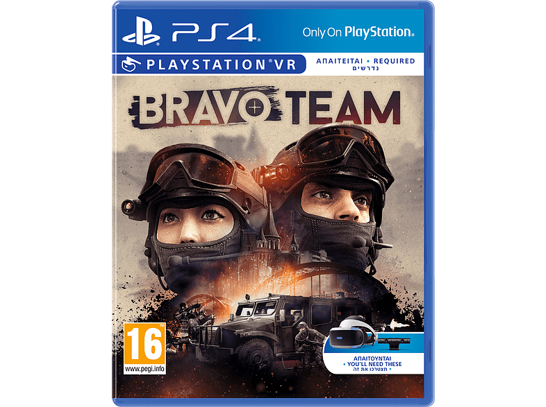 Bravo Team VR PlayStation 4 gaming games ps4 games