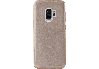 PURO Shine Over Backcover Samsung Galaxy S9  Gold