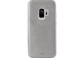 PURO Shine Over Backcover Samsung Galaxy S9  Silber