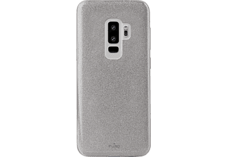 PURO Shine Over Backcover Samsung Galaxy S9+  Silber