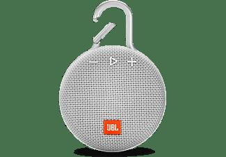 JBL Clip 3 Bluetooth luidspreker Handsfree-functie, Outdoor, Spatwaterdicht Wit