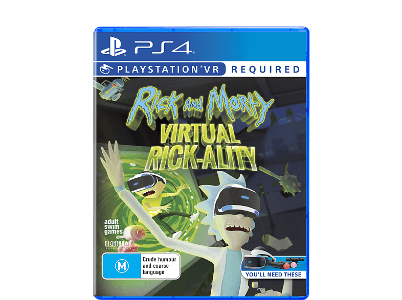 Ricky and Morty PlayStation 4 gaming games ps4 games