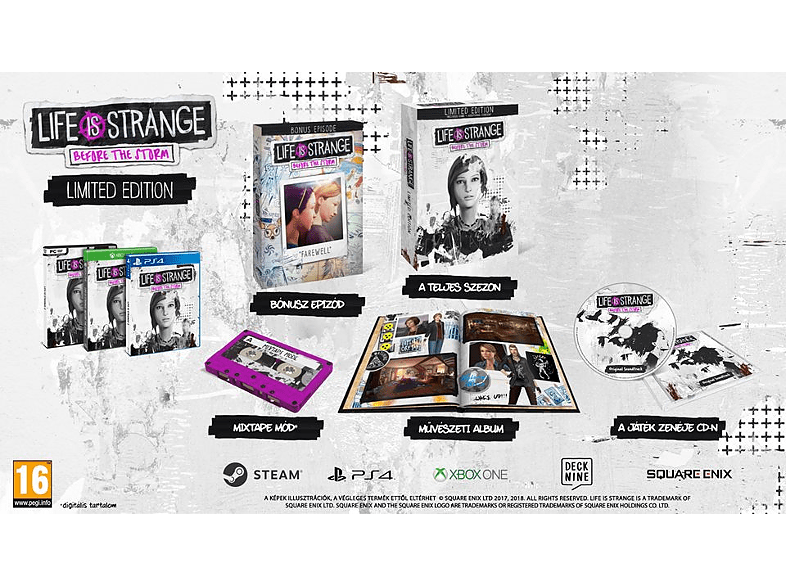 Life is Strange: Before the Storm Limited Edition (PC) - Media Markt Magyarország