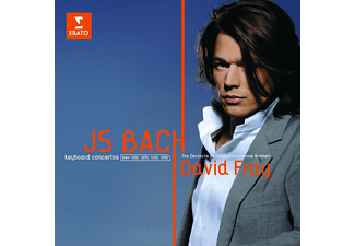 David Fray - Bach: Zongoraversenyek (CD)