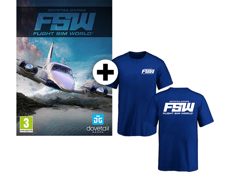 Flight Sim World και T-Shirt PC gaming games pc games